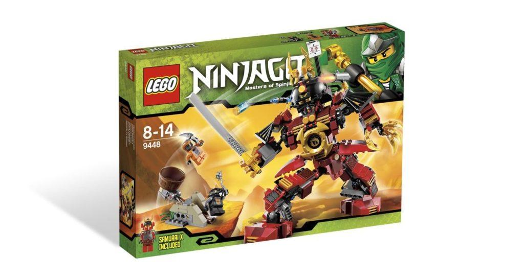 レゴ (LEGO) ニンジャゴー サムライ・ロボ 9448
