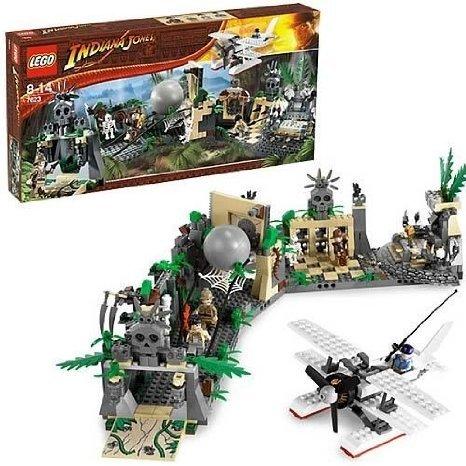 LEGO 寺院遺跡からの脱出