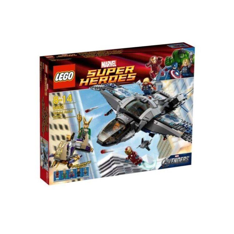 LEGO スーパー・ヒーローズ クインジェットでの空中バトル 6869