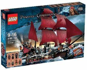 LEGO パイレーツオブカリビアン アン王女の復讐号 4195