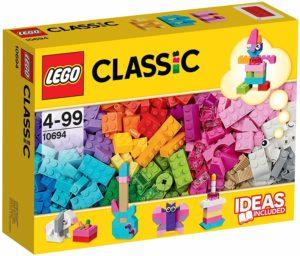 LEGO クラシック アイデアパーツ 明るい色セット 10694