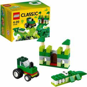 LEGO クラシック アイデアパーツ緑 10708