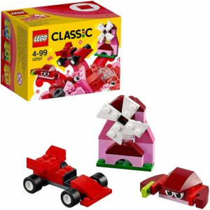 LEGO クラシック アイデアパーツ赤 10707