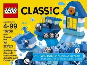 LEGO クラシック アイデアパーツ青 10706