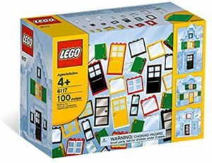 LEGO 基本セット ブロック ドアと窓セット 6117