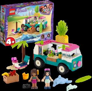 LEGO フレンズ エマのフレッシュジュース・ワゴン 41397