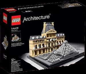 LEGO_アーキテクチャー_21024_ルーブル美術館