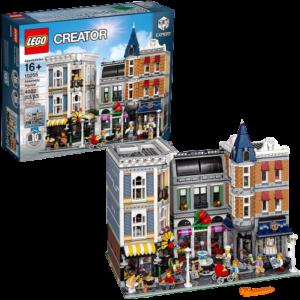 LEGO_クリエイター_エキスパート_10255_にぎやかな街角