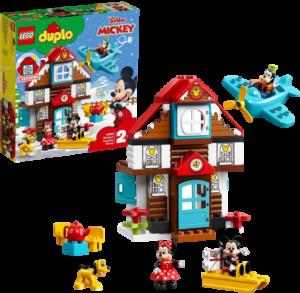 LEGO_デュプロ_10889_ミッキーとミニーのホリデーハウス