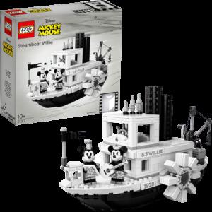 レゴ アイデア 蒸気船ウィリー ディズニー 21317