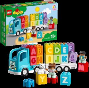 LEGO デュプロ はじめてのデュプロ アルファベットトラック 10915