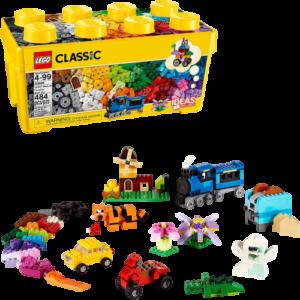 LEGO 10696 黄色のアイデアボックス