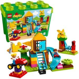 LEGO デュプロ みどりのコンテナスーパーデラックス おおきなこうえん 10864
