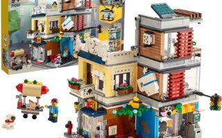 レゴ(LEGO) クリエイター タウンハウス ペットショップ&カフェ 31097