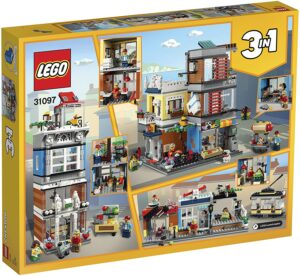レゴ(LEGO) クリエイター タウンハウス ペットショップ&カフェ 31097(2)