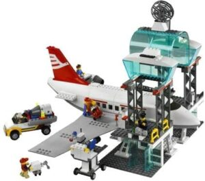 LEGO シティ 空港 7894 着陸